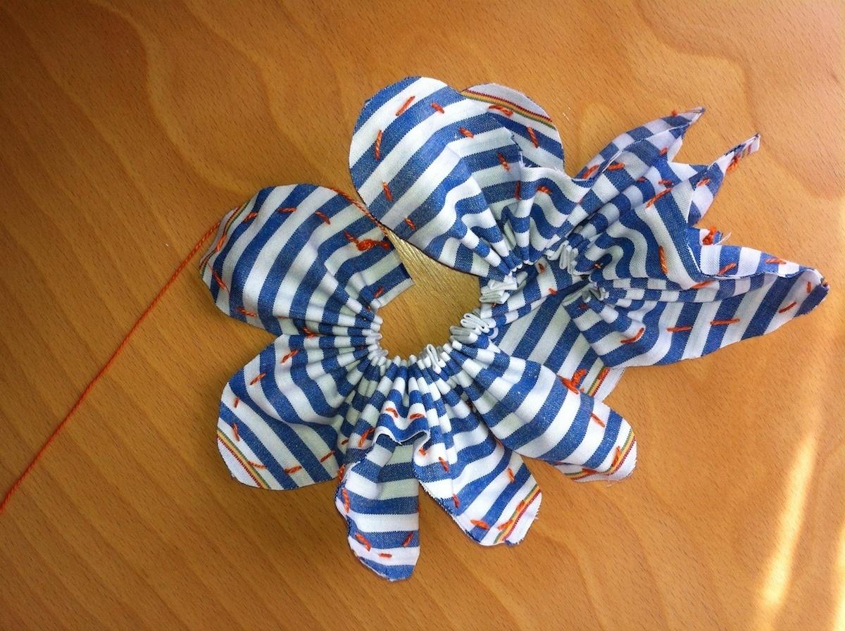 C mo hacer flores de tela con este sencillo tutorialtelas divinas tienda de telas online - Comprar tela online espana ...
