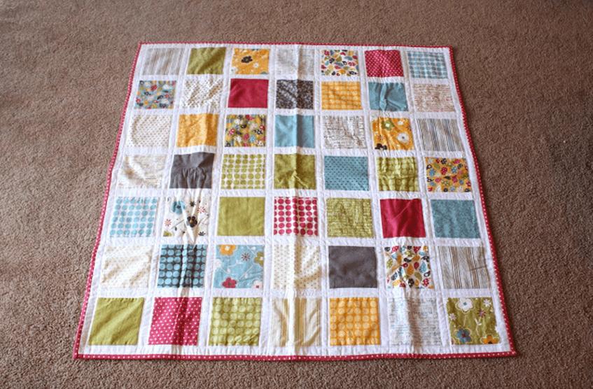 Hacer un quilt de patchwork paso a pasotelas divinas tienda de telas online - Como hacer pachwork ...