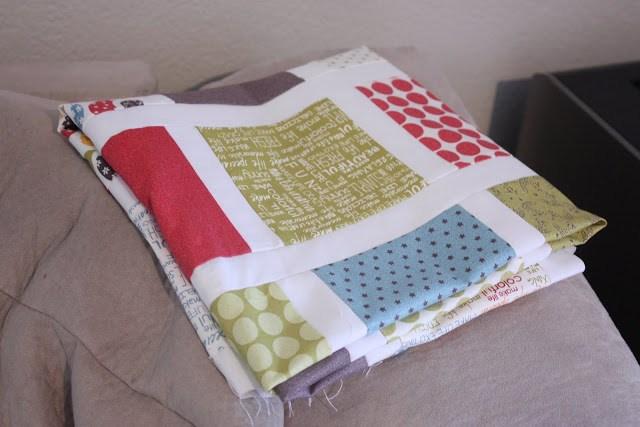 hacer un quilt de patchwork