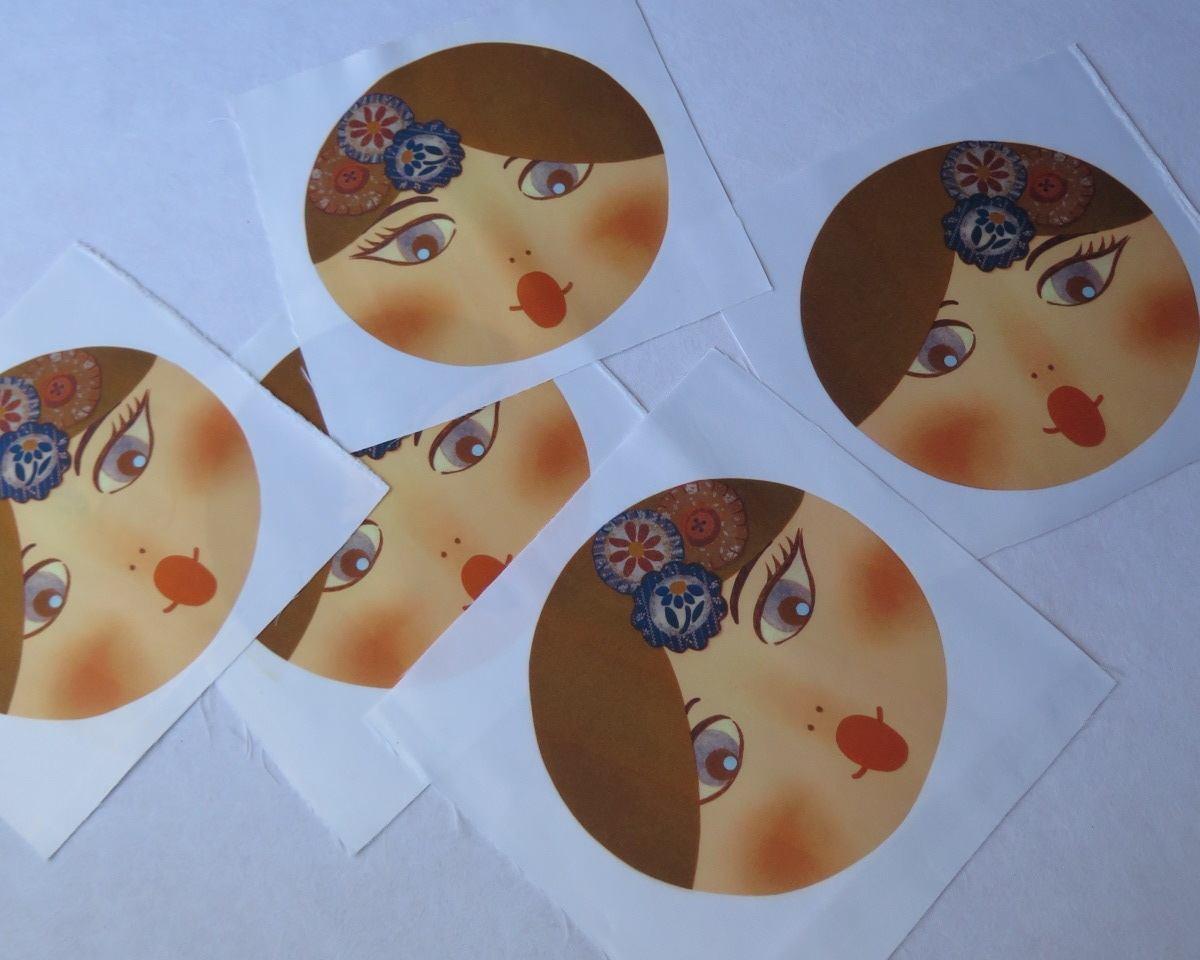 telas divinas-caras matriuskas-caras muñecas rusas-telas online