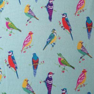 telas divinas-tela pajaros-tela birds-tela pajaros turquesa