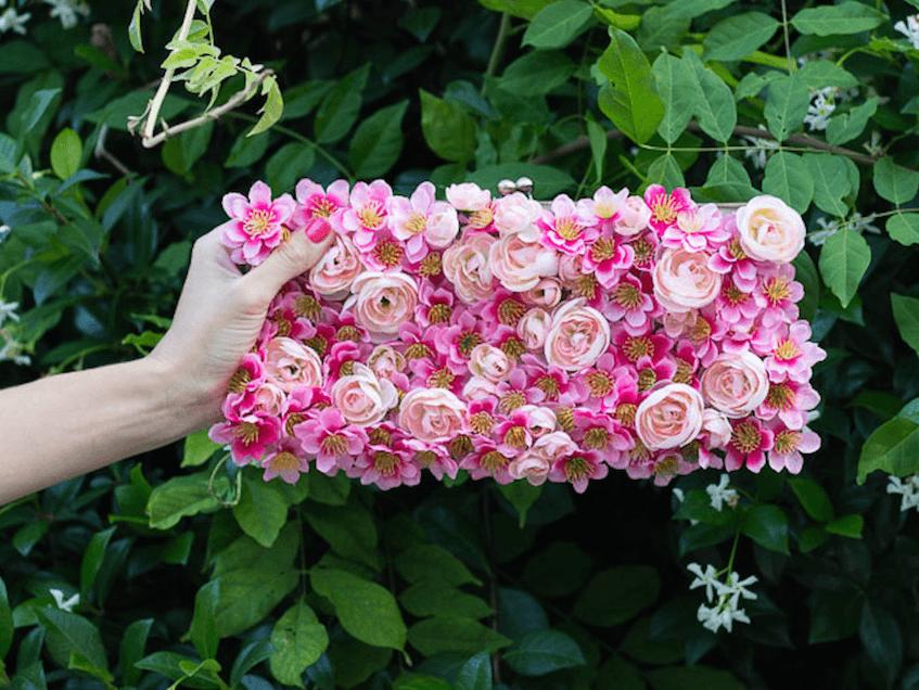 telas divinas-tutorial hacer bolso flores-bolso flores