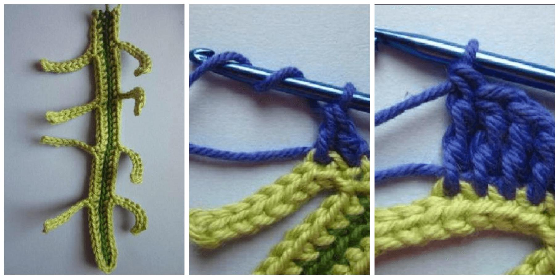 telas divinas-tutorial crochet