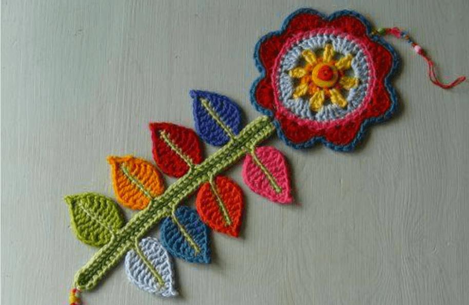 como hacer flor de crochet