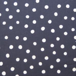 tela lunares blanco negro