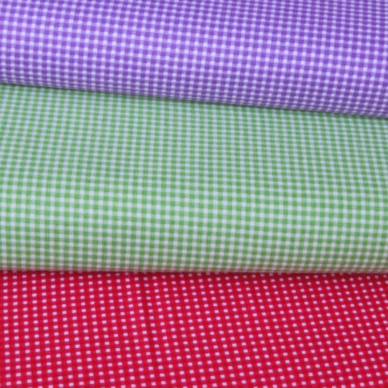 telas divinas-tela cuadritos vichi rojo verde malva-telas online-3