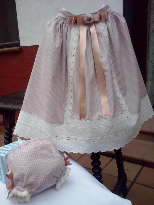 tela infantil batista lunares