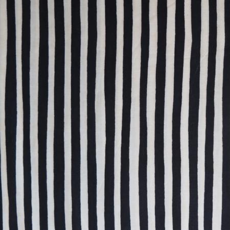 tela rayas blanco negro