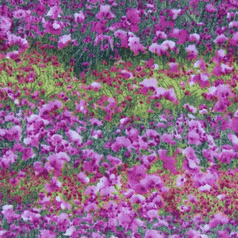 tela estampada infantil flores