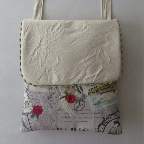 lucia castaño-bolso bandolera tela paris malva-tienda telas on line-telas online