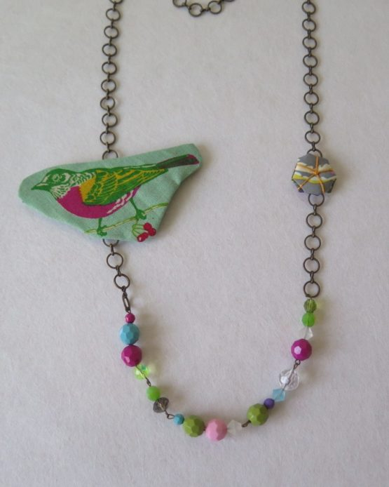 lucia castaño-collar birds-tienda telas on line-telas online