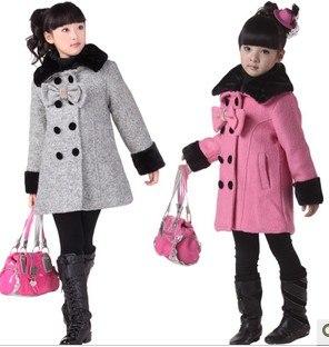 abrigos de niñas