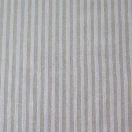 tela rayas beige blanco