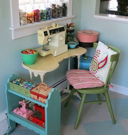 Almacenar accesorios de costuratelas divinas tienda de for Muebles de costura