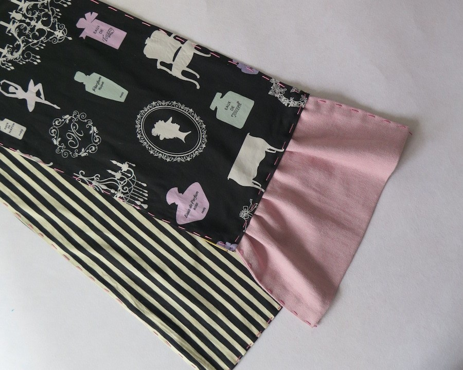 telas divinas-bufanda rayas perfume.