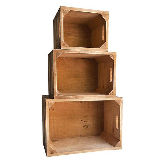 Hacer Estanterias Con Cajas De Madera Recicladas
