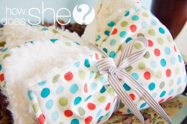 hacer una manta de bebé