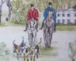telas divinas-tela caballos