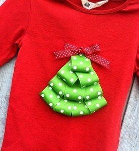 telas divinas-camisetas infantiles con adornos navideños-2