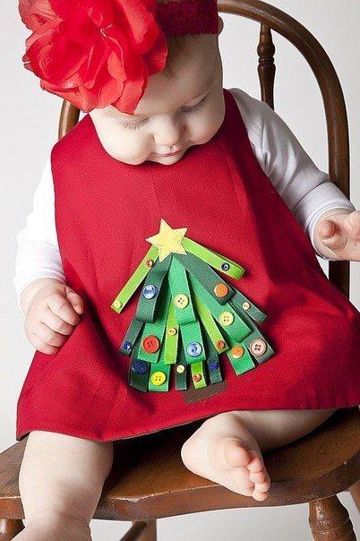 telas divinas-camisetas infantiles con adornos navideños-6