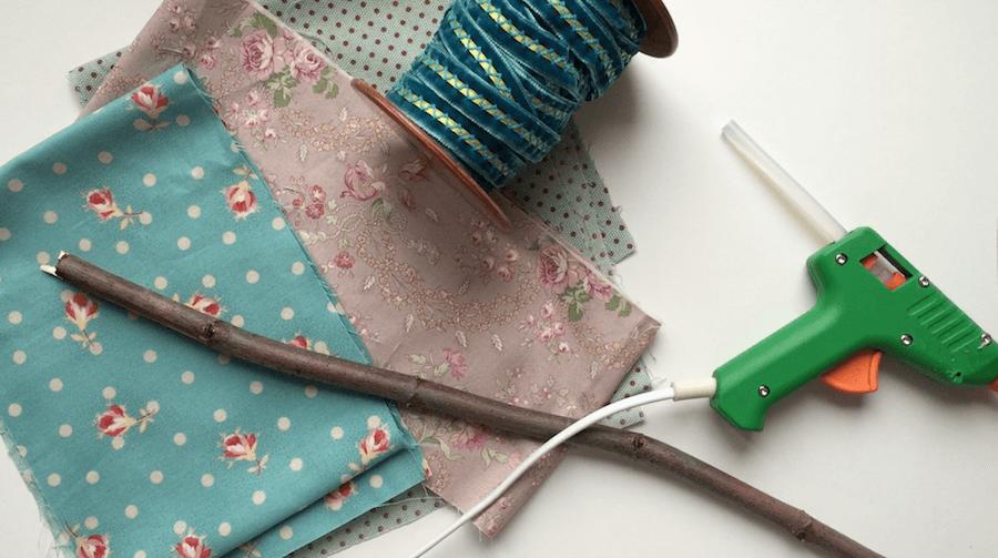 telas divinas-como hacer flores de tela