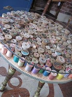 telas divinas-decorar con carretes de hilos-13