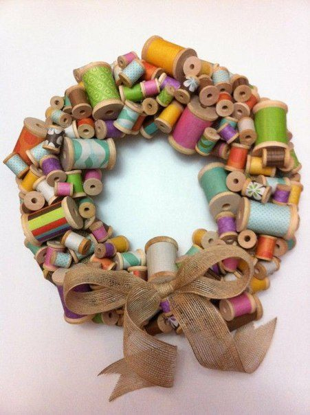 telas divinas-decorar con carretes de hilos-7