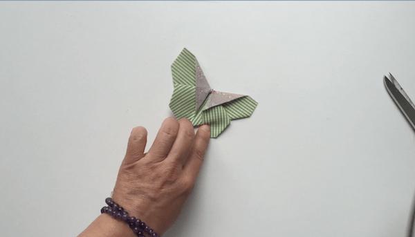 telas divinas-hacer mariposas de telas
