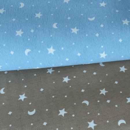 telas divinas-loneta estrellas lunas.-