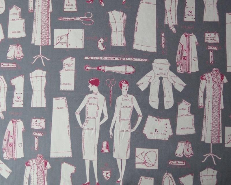 Tela patrones vintage telas divinas tienda de telas for Telas vintage