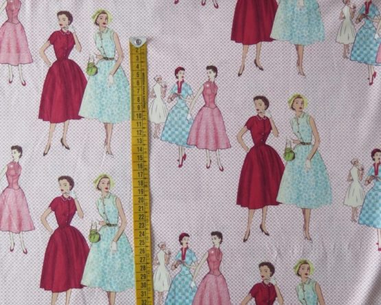 tela señoras vintage