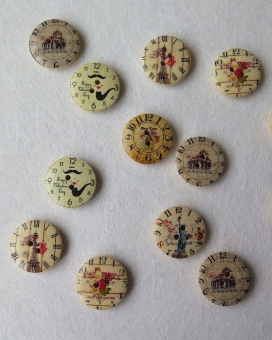 botones vintage