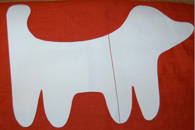 hacer un perro de tela