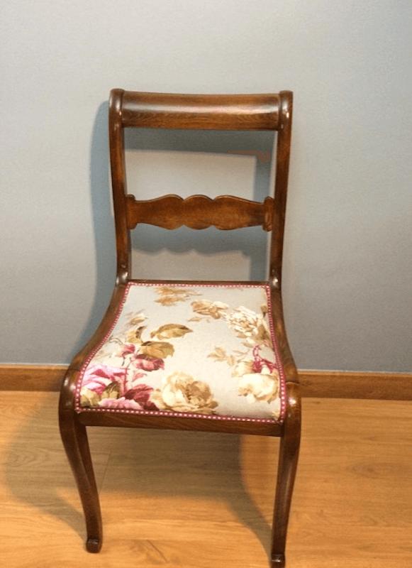 Telas para tapizar sillas online tela loneta negra tela for Telas tapizar sillas comedor