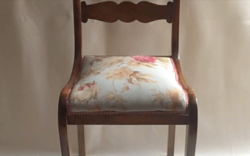 tutorial para tapizar silla