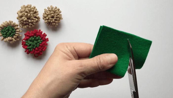hacer flores de tela