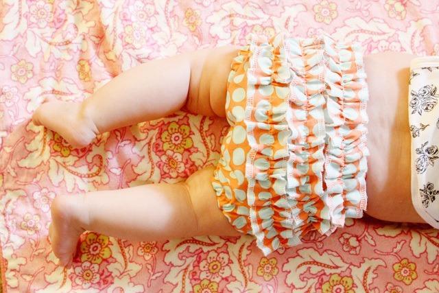hacer una braga de bebe