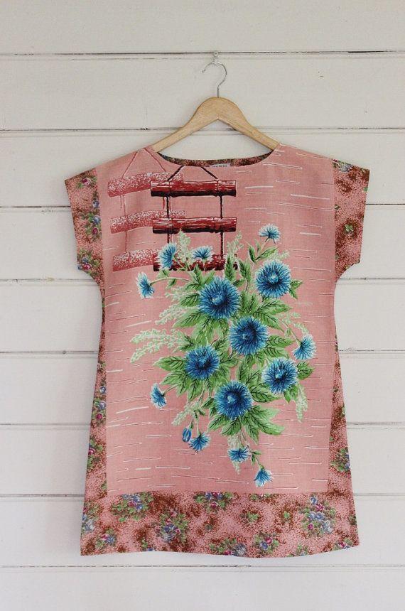 camisas hechas con telas combinadas