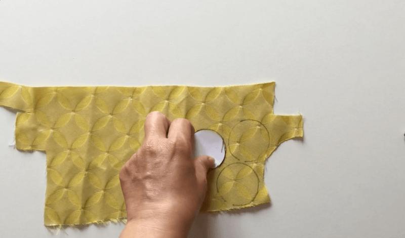hacer bolas de tela