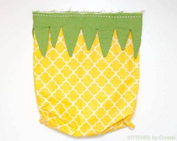 hacer una mochila de piña