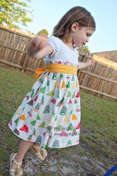 hacer un vestido reciclando una camiseta