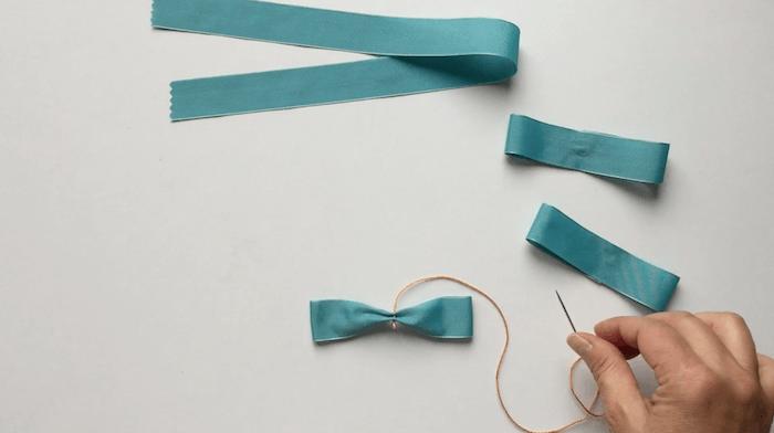 Tutorial para hacer lazo con cinta con video telas - Como construir un zapatero ...