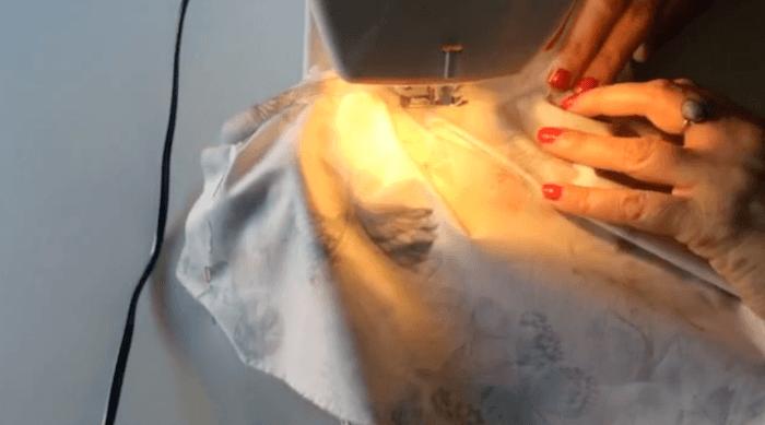 vestido de vuelo