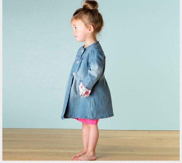 abrigo de verano de niña