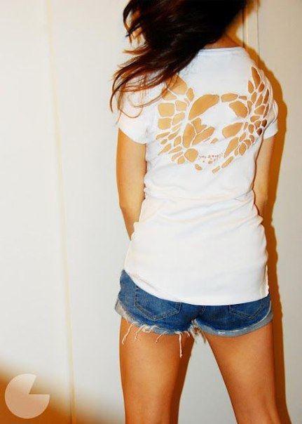 camisetas con cortes originales