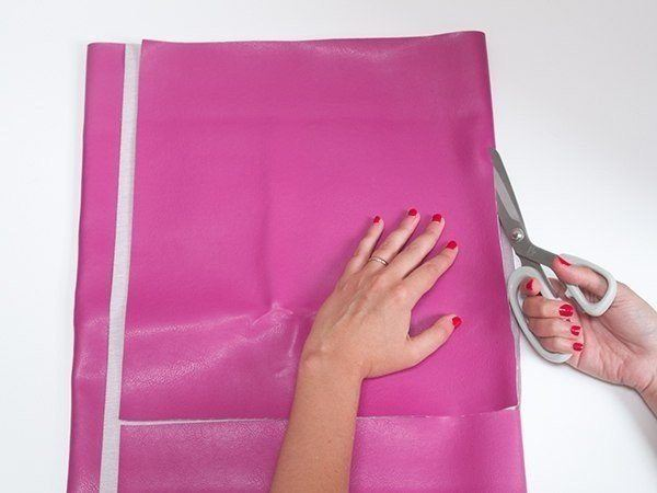 como hacer una cartera de mano