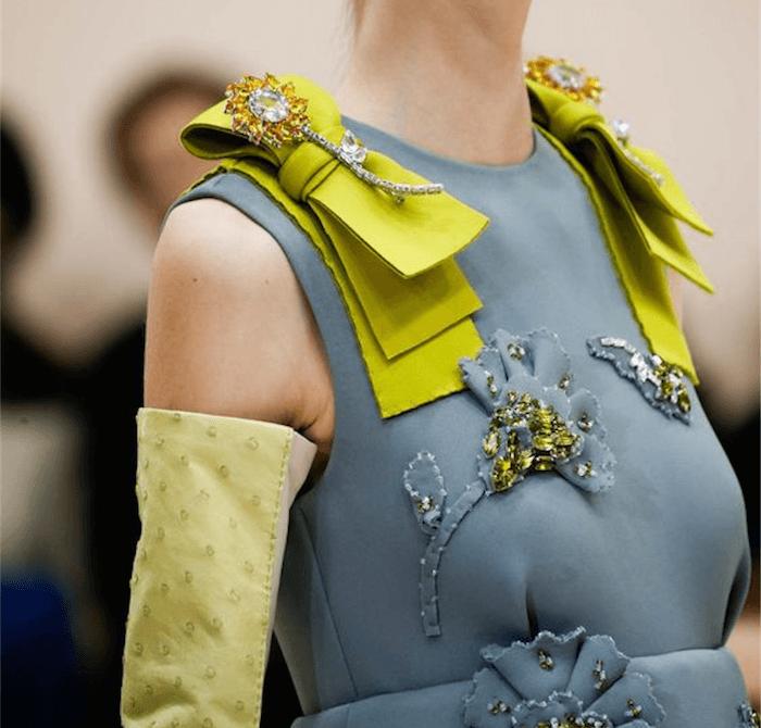 maravillos detalles para ropa de ceremonia
