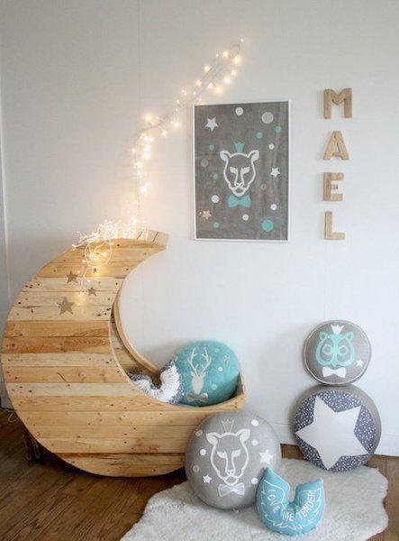 ideas para decorar habitaciones de bebés