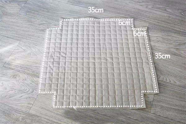cómo cubrir un taburete