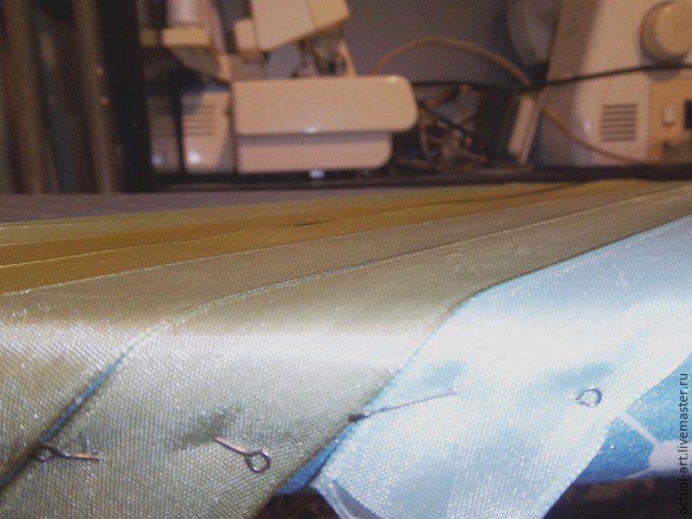 cómo hacer tejido con cintas decorativas